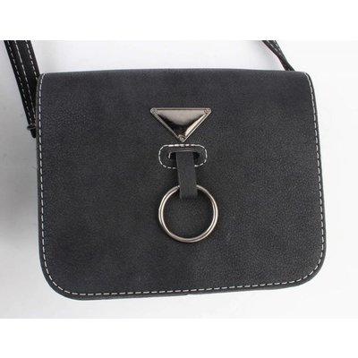 """Crossbody Tasche """"Hang Ring"""" schwarz"""