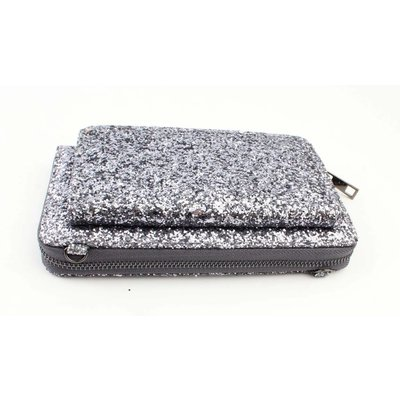 "Evening bag ""Sequins"" grey"