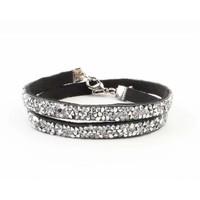 "Multifunction bracelet ""Rhinestone"" silver"