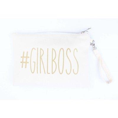 """Handtasche """"Girlboss"""" weiß"""
