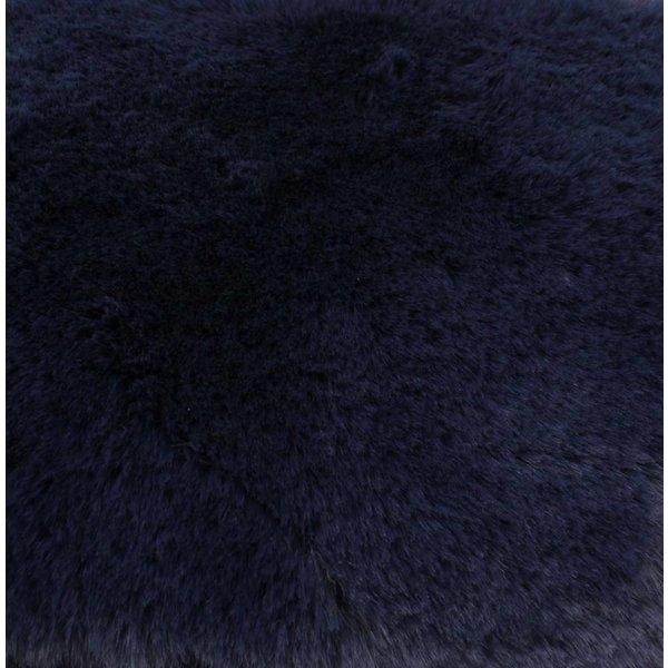 "Crossbody Tasche ""Kunstpelz"" blau"
