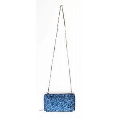 "Evening bag ""Sequins"" blue"