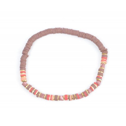 "Armband ""Beau"" roze"