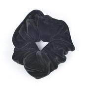 """Haar-Gummibänder """"Scrunchie"""" schwarz, pro 3 Stück"""