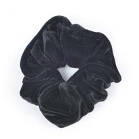 "Hair elastics ""Scrunchie"" black"