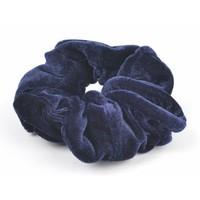 """Haarelastiek """"Scrunchie"""" blauw"""