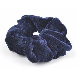 """Haar-Gummibänder """"Scrunchie"""" blau"""