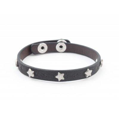 """Armband """"Kleine Sterne"""" schwarz"""