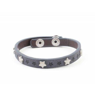 "Bracelet ""Little stars"" jeans blue"
