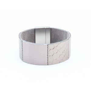 """Armband """"Ava"""" grijs"""