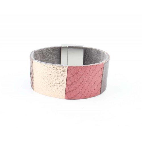 """Armband """"Ava"""" taupe"""