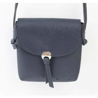 "Cross Body Tasche ""Metall Auge"" blau metallic"