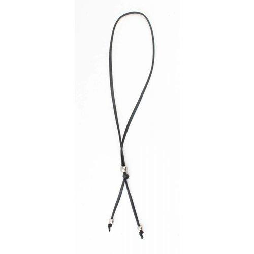 """Halskette """"Perle"""" schwarz"""
