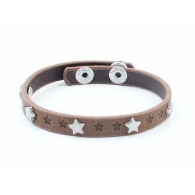 "Bracelet ""Little stars"" brown"