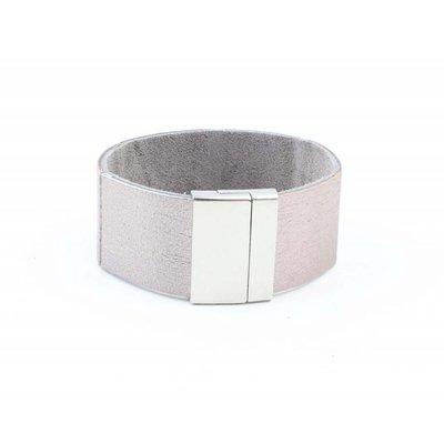 """Armband """"Ava"""" grau"""