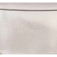 "Cross Body Tasche ""Dreieck"" champagner metallic"