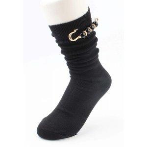 "Socks ""pin"" black"