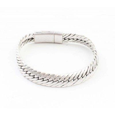 "Armband ""Busra"" oud zilver"