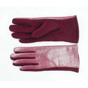 """Handschoenen """"Metallic"""" rood"""