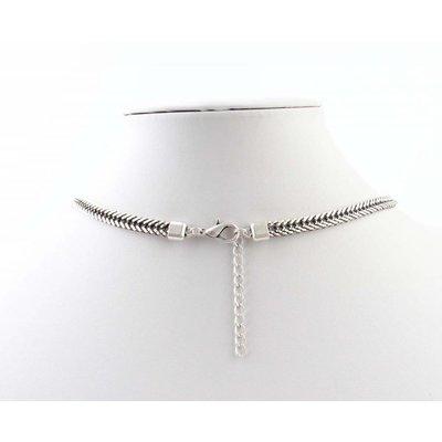 """Lange Halskette """"Milena"""" Silber"""