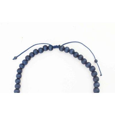 """Lange Halskette """"Isra"""" blau"""