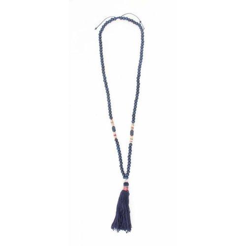 """Halskette """"Isra"""" blau"""