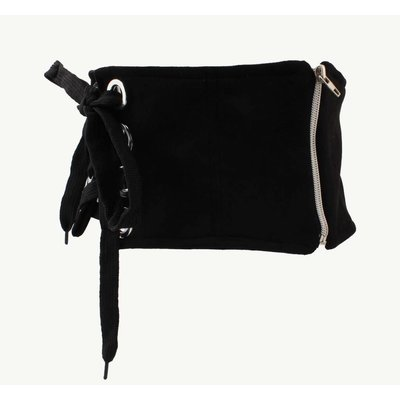 "Corset belt ""Zipper"" black"