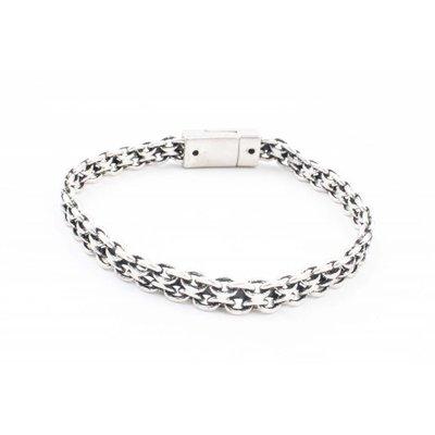 "Armband ""Jessia"" zilver"