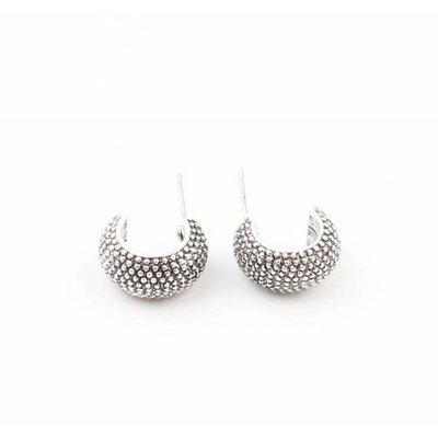 """Earring """"Febe"""" silver"""