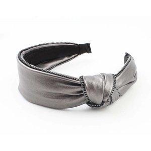 "Headband ""Zipper"" bronze"