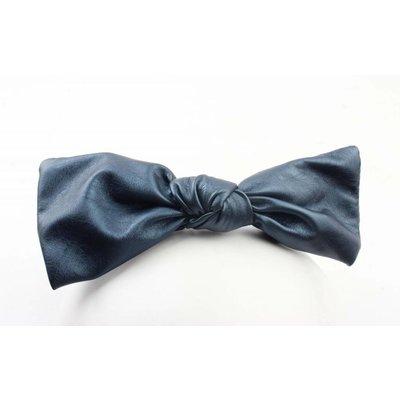 """Haar-reif """"Bow"""" blau metallic"""