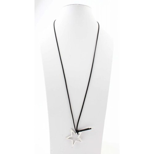 "Necklace ""Star"" black"
