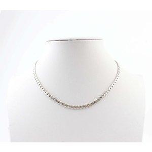"""Halskette """"Links S"""" silber"""
