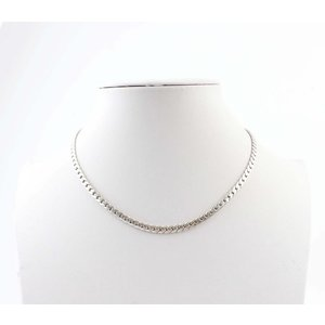 """Necklace """"Chains S"""" silver"""