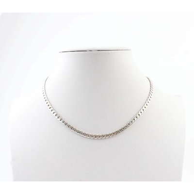"Short necklace ""Chain S"" silver"