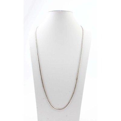 """Lange Halskette """"Links L"""" silber"""