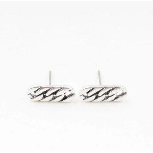 """Earring """"Chain"""" silver"""