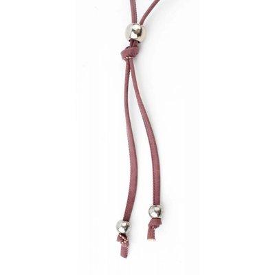 """Lange Halskette """"Perle"""" rot"""