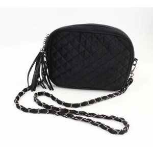"Cross Body Bag ""Gesteppt"" schwarz"