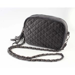 "Cross Body Bag ""Gesteppt"" grau"