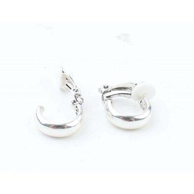"""Clip Earring """"Jasmin"""" silver"""
