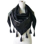 Dreieck Schal schwarz