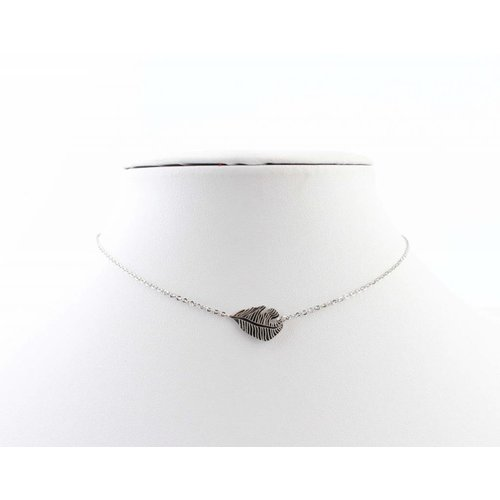 "Necklace ""Feather"" silver"
