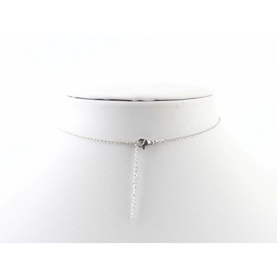"Kürze Halskette ""Bermuda"" silber"
