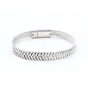 """Armband """"Ziva"""" zilver"""