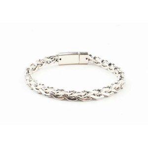 "Armband ""Esma"" shiny zilver"