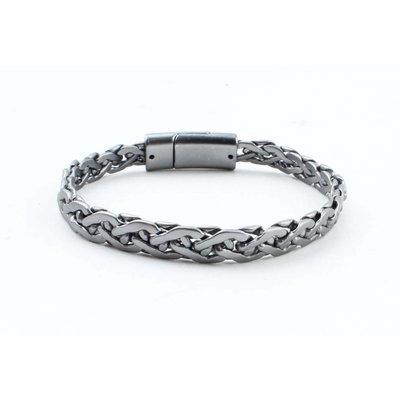 """Stahl Armband """"Esma"""" anthrazit"""