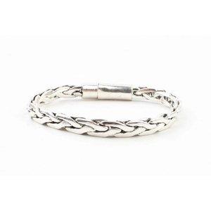 "Armband ""Pippa"" shiny zilver"