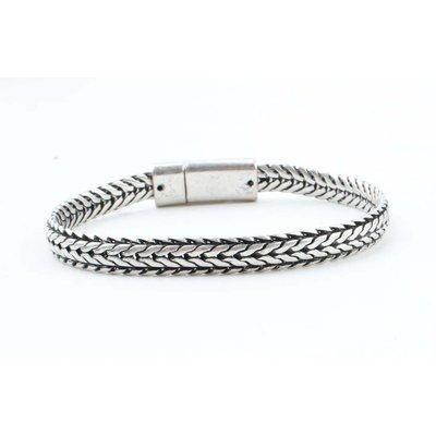"""Steel bracelet """"Nola"""" silver"""