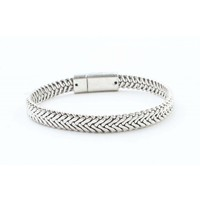 "Armband ""Marley"" old zilver"